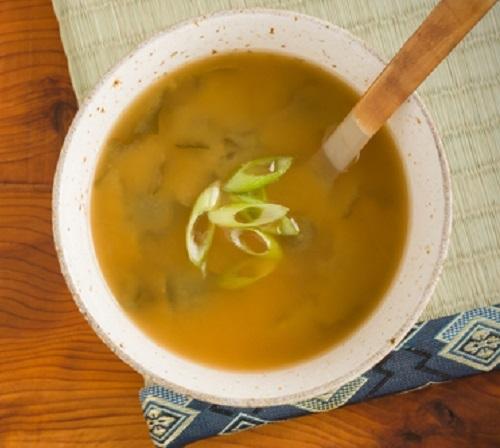 mellow yellow miso soup