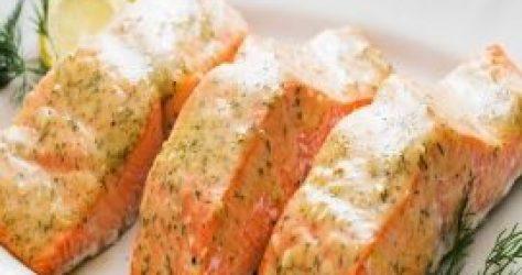 salmon dijon