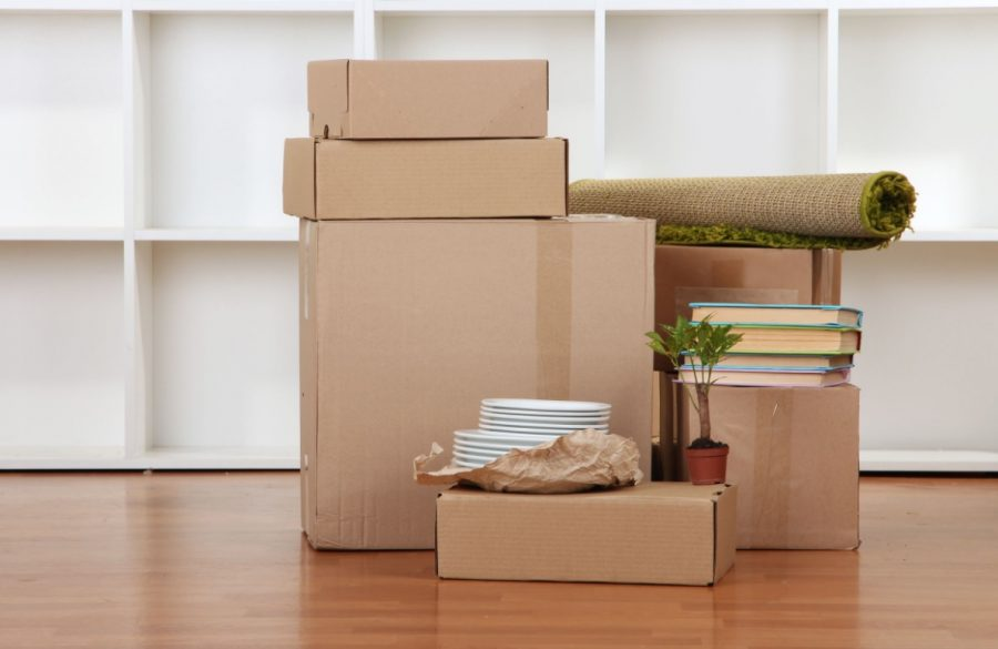 packing boxes image