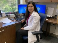 IMG_0376Dr Chaudhry in her office at Phelps