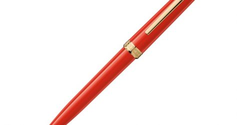 mont blanc red pen