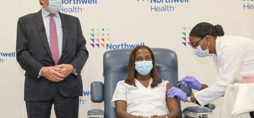northwell lij moderna vaccine