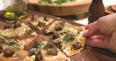 gluten free skillet pizza