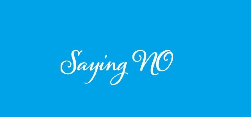 say no image